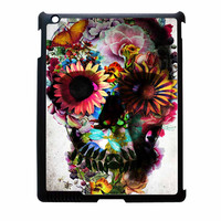 Floral Sugar Skull iPad 4 Case