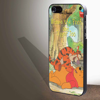 "Winnie the Pooh and Tigger  for iphone 4/4s/5/5s/5c/6/6+, Samsung S3/S4/S5/S6, iPad 2/3/4/Air/Mini, iPod 4/5, Samsung Note 3/4 Case ""005"""