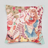 Fairy Story: Alice Cushion Cover