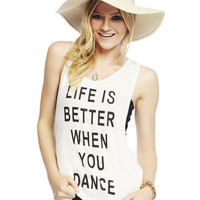 Life Is Better Tank | Wet Seal