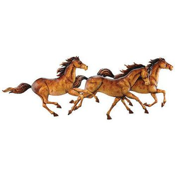 Running Horses Western Decor Wall Art