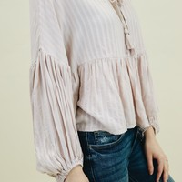 Loose Fit Tie Top (Multiple Colors Available)