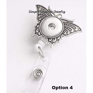 Retractable Snap Badge Holder 18mm-20mm