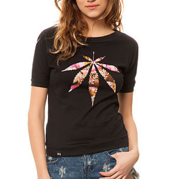 The Good Together Dolman Tee in Black