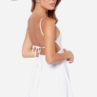 LULUS Exclusive Can't Go Wrong White Dress