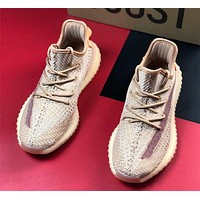 Adidas Yeezy Boost 350 V2 Big-sole jogging shoes
