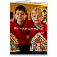 Personalized Gifts For Grandma Greeting Card