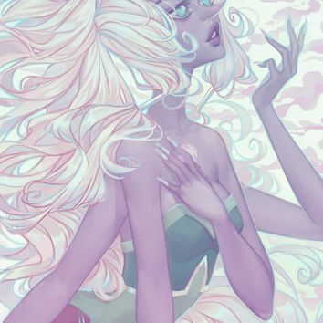 Opal, an art print by Mioree .