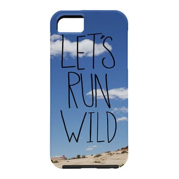 Leah Flores Lets Run Wild X Moab Cell Phone Case