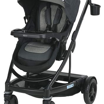 Graco Baby UNO2DUO One Hand Fold Reclining Seat Stroller 2018 Bryant NEW