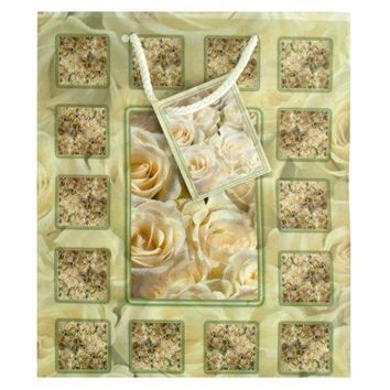 Medium White Rose Gift Bag Set Of 30 Pack