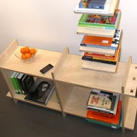 Adjustable Tab & Slot Shelf - Birch Veneer Plywood