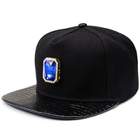 Cotton Gemstone Hip-hop Baseball Cap Hats