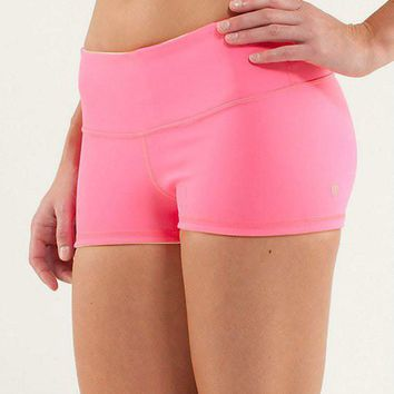 Lululemon Fashion Solid Sport Gym Yoga Tight Beach Shorts