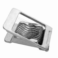 ChefLand Aluminum Egg / Mushroom Slicer Square Shape, Piano Wire Cutters