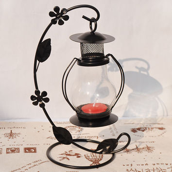 Home Decor Iron Lights Candle Stand Accessory Hook Hanger [6256382086]