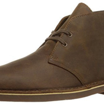 Clarks Men's Bushacre 2 Desert Boot,Beeswax Leather,9.5 M US
