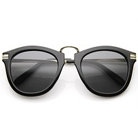 Vintage 1920's Spectacle Steampunk Horned Rim Sunglasses 8635