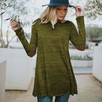 Wild Lavril Tee in Olive