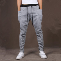 Unique Mens Jogger Pocket Cargo  Sweatpants