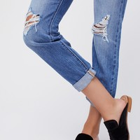 Free People Levi's 501 Taper Jeans