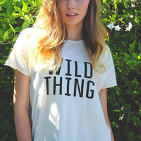 Wild Thing Destroyed Tee