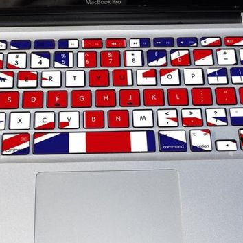 Macbook Keyboard Decal Sticker - Free Shipping