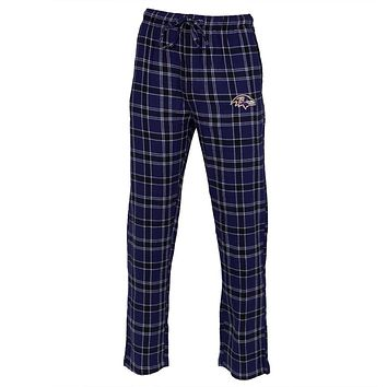 Baltimore Ravens - Logo Plaid Lounge Pants