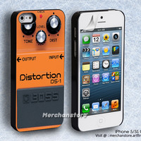 Yellow Orange Music Distortion Boss iPhone 5 or 5S Case