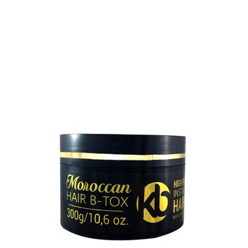 HAIR BOTOX KB MOROCCAN INSTANT MIRACLE RECONSTRUCTION MASK 300g/10,6oz. [flash sale]