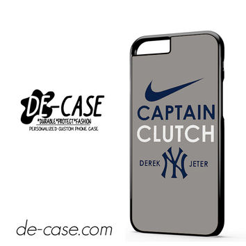 Derek Jeter Captain Clutch New York Yankees DEAL-3172 Apple Phonecase Cover For Iphone 6 / 6S