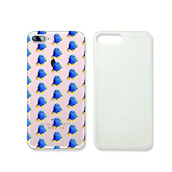Cute Dory Blue Tan Fish Slim Iphone 7 Case, Clear Iphone Hard Cover Case For Apple Iphone 7 Emerishop (NLA242.7sl)