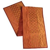 Pier 1 Imports - Product Details - Copper & Rust Weave Table Runner