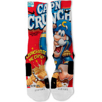 Captain Crunch Fast Shipping!! Nike Elite Socks Customized