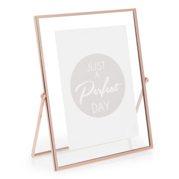 TIMO COPPER metal photo frame 19 x 23cm | Maisons du Monde