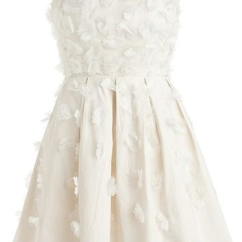 Petal Purity Dress