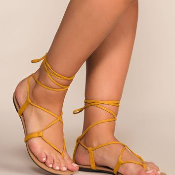 Jeanie Sandals - Honey