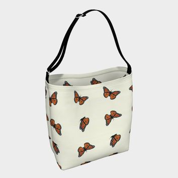 Monarch Butterflies Day Tote