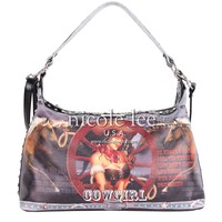 COWGIRL WHEEL HOBO BAG - NICOLE LEE