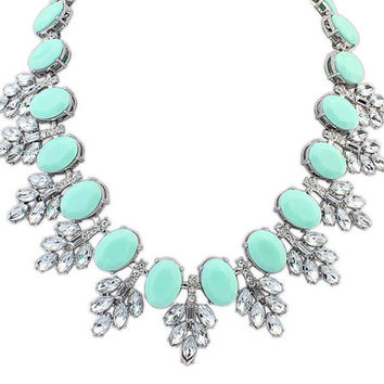 New Arrival Gift Jewelry Shiny Stylish Bohemia Gemstone Necklace [6586313799]