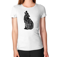 Wolves don't lose sleep over the opinion of sheep Women's T-Shirt