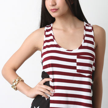 Stars And Stripes Racerback Top