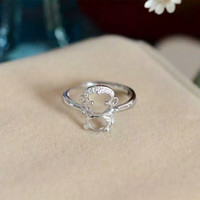 New Arrival Jewelry Stylish Gift Shiny 925 Silver Ring [8380580295]