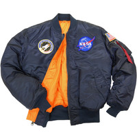Alpha Industries - NASA MA-1 Jacket (Replica Blue)