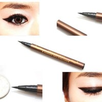 #5279 Black Waterproof Precision Liquid Eyeliner Smudge Proof Makeup Pencil Eye Liner