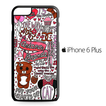 Ariana Grande Quotes iPhone 6/6S Plus Case