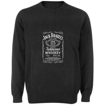 jack daniels sweater Black and White Sweatshirt Crewneck Men or Women for Unisex Size with variant colour