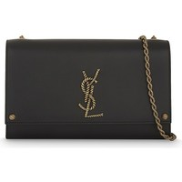 SAINT LAURENT - Monogramm Kate leather cross-body bag | Selfridges.com