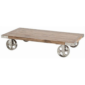 Arteriors Home Norwood Recycled Wood/Iron Coffee Table - Arteriors Home 6573