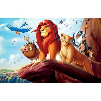 5D Diamond Painting Lion King Kit